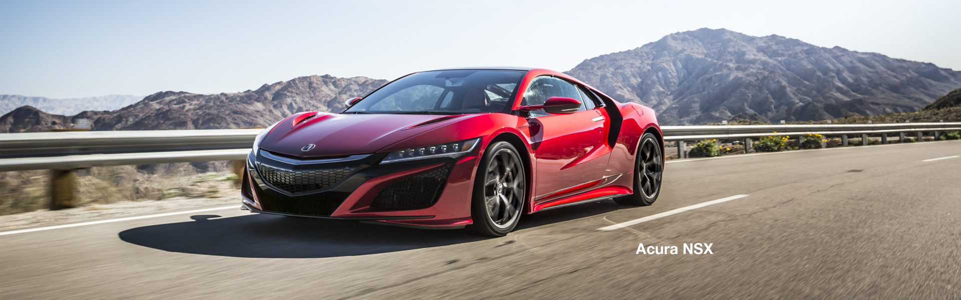 Acura NSX red