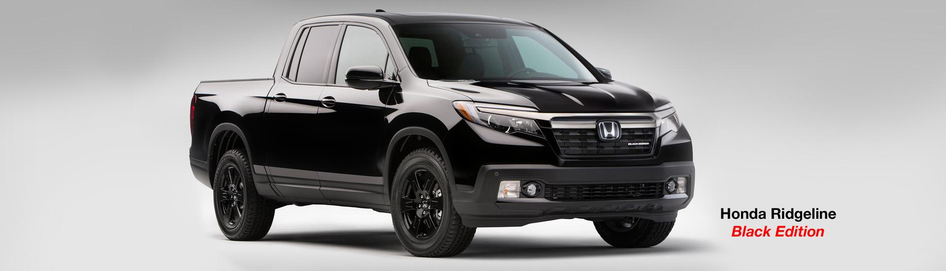 Honda Ridgeline Truck black