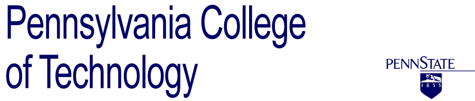 Penn State Pennsylvania College of Technology logo